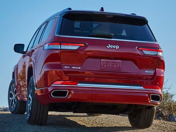 2021 Jeep Grand Cherokee L Rear Angle