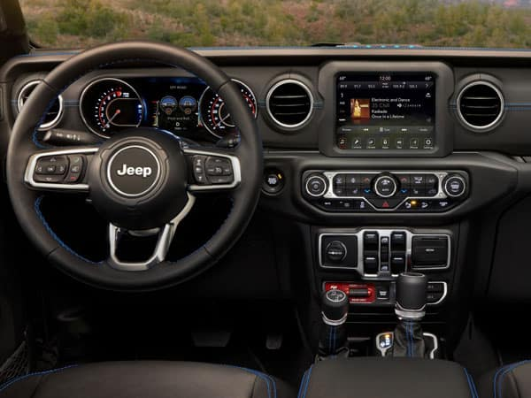 2021 Jeep Wrangler 4xe Plug-In Hybrid Interior