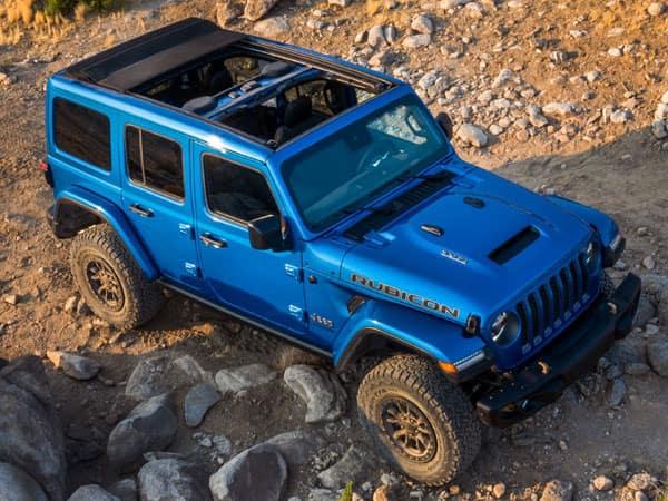 2021 Jeep Wrangler Rubicon 392 Aerial View