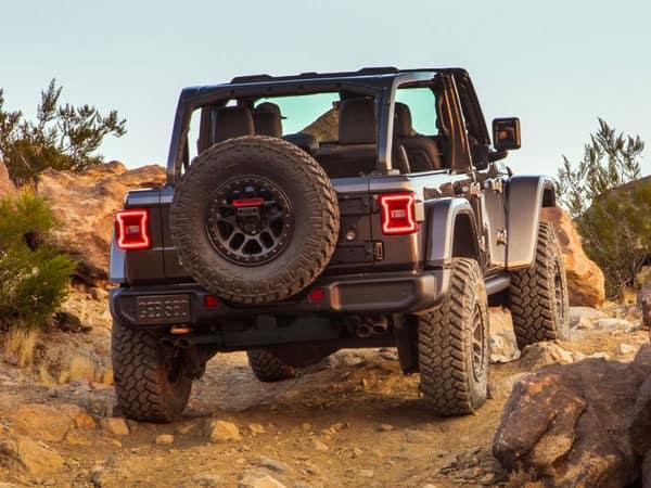 2021 Jeep Wrangler Rubicon 392 Rear Angle