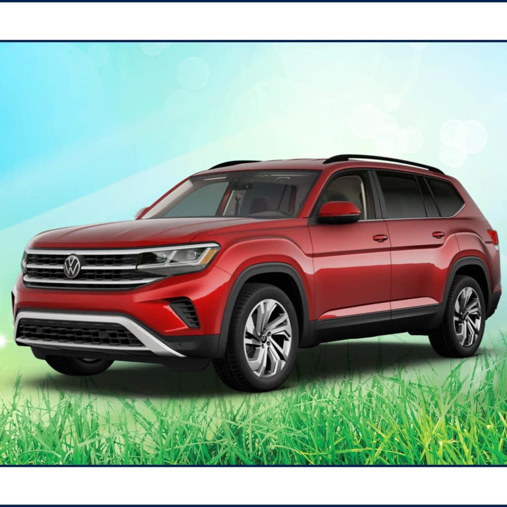 New 2021 Volkswagen Atlas V6 SE TECH w/ 4MOTION 21.5