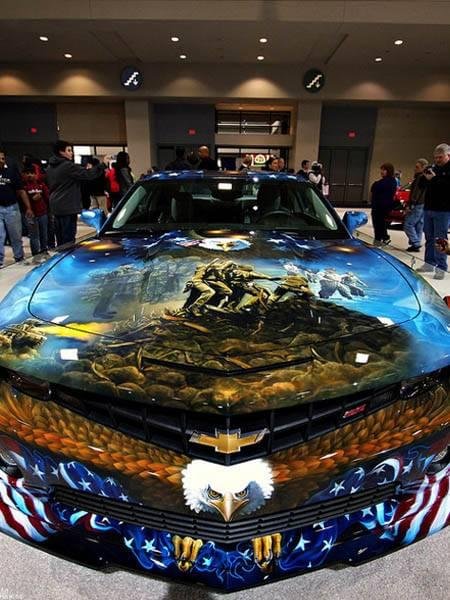 The 10 Most American Paint Jobs We Have Ever Seen | CarLotz