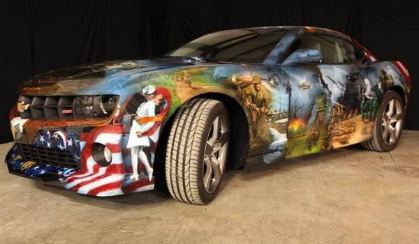 The 10 Most American Paint Jobs We Have Ever Seen