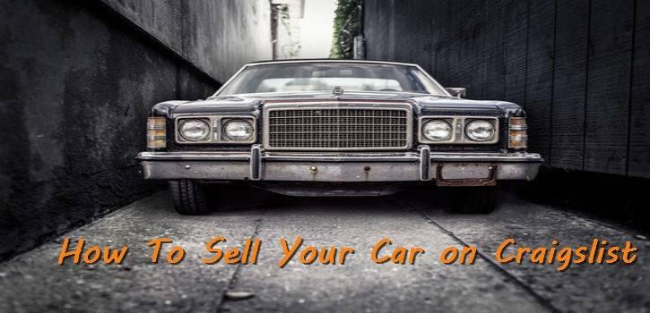 Selling Your Car On Craigslist