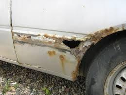 what causes rust on cars