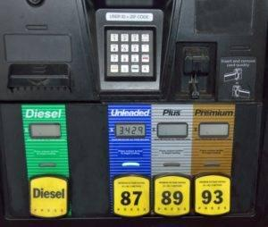 gas and diesel pump