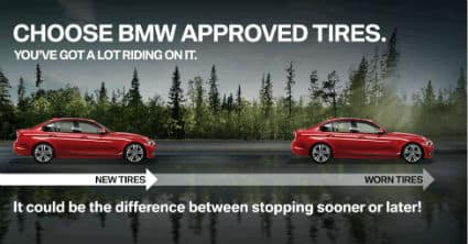 TIRES $7.50 OFF each BMW TIRE
