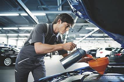 BMW Oil Service