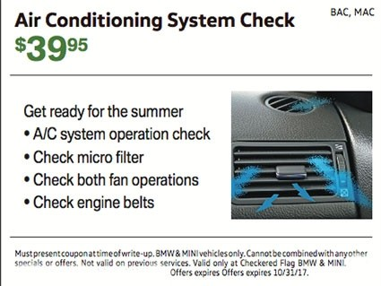 Air Conditioning System Check $39.95