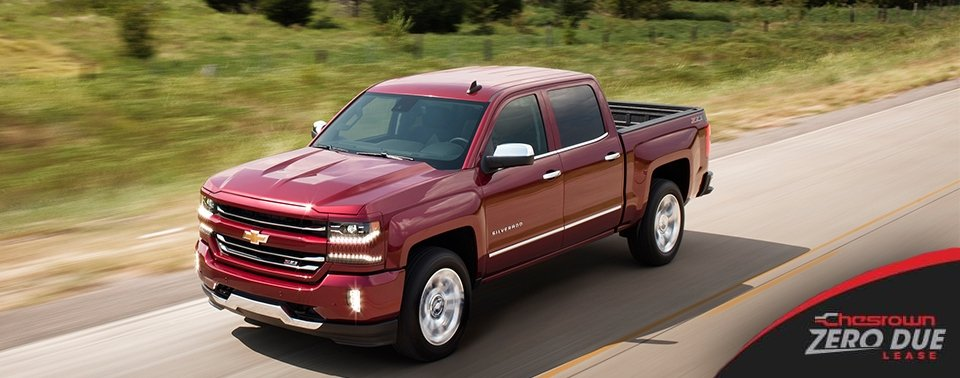 New 2017 Chevrolet Silverado 4x4 LT Double Cab