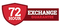 72 Hour Exchange Guarantee
