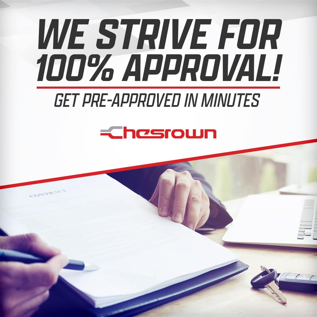 Chesrown Chevrolet Buick GMC Guaranteed Credit Approval in Delaware, OH