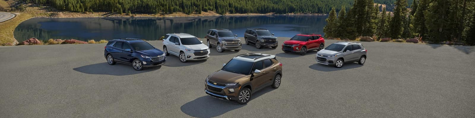 2021 Chevrolet SUV Lineup in Delaware, OH