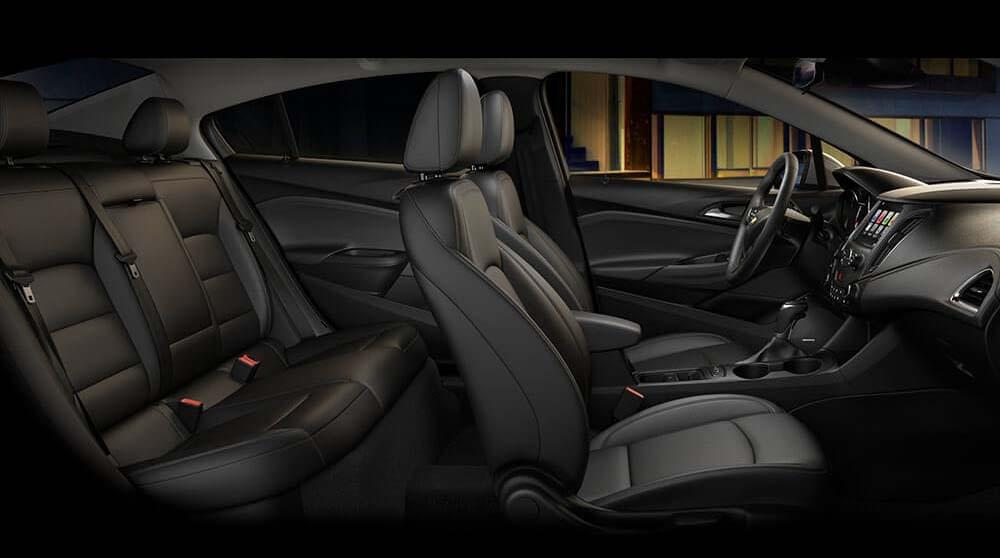 2017 Chevy Cruze interior seating