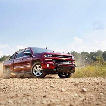 2017 Chevrolet Silverado 1500 red exterior