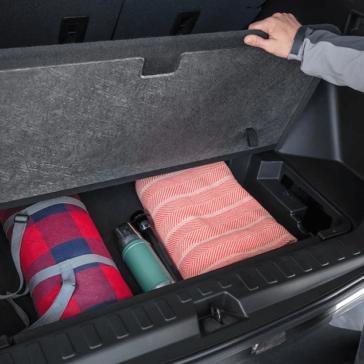2018 Chevy Equinox cargo storage space