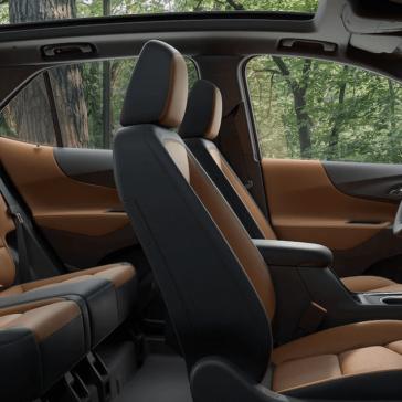 2018 Chevy Equinox interior seating