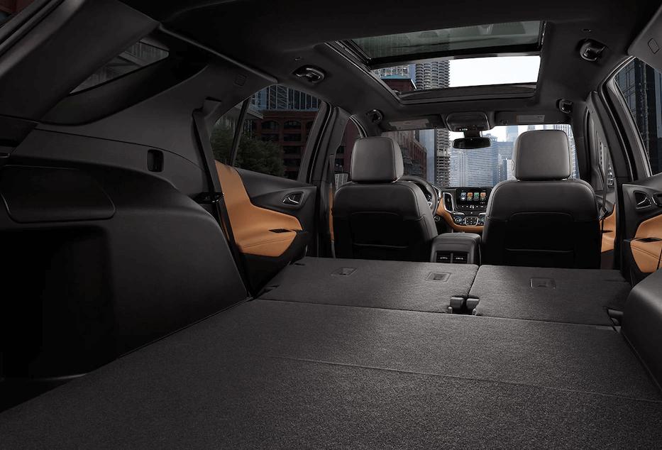 2018 Chevy Equinox interior space
