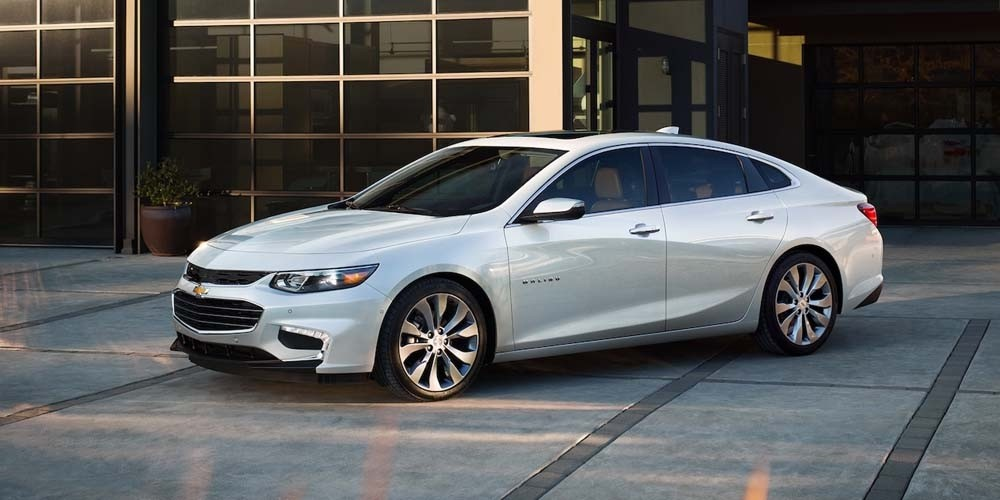 2018 Chevrolet Malibu Exterior Side View