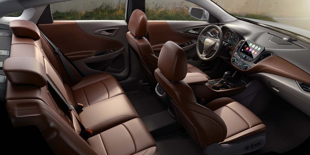 2018 Chevrolet Malibu interior seats