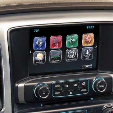 2018 Chevy Silverado 1500 Touchscreen