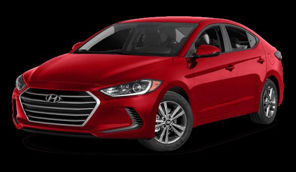 2017 Hyundai Elantra red exterior
