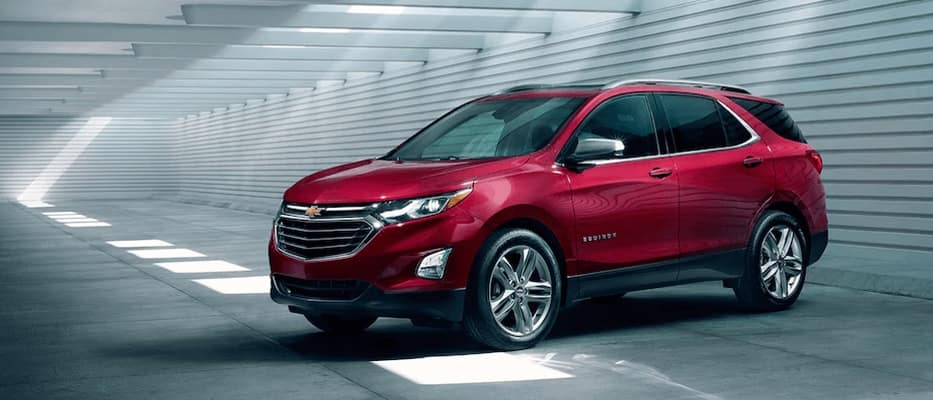 2018 Chevrolet Equinox red exterior model