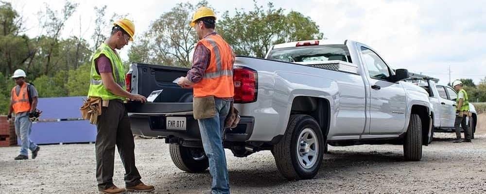 2018 Chevrolet Silverado 1500 Towing