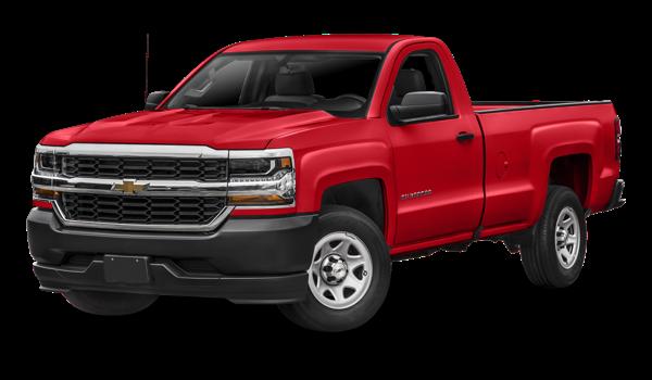 2018 Chevrolet Silverado 1500 red exterior