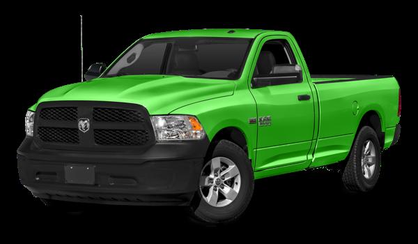 2018 Ram 1500 Tradesman green exterior