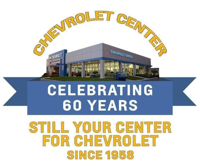Chevrolet Center Celebrating 60 Years