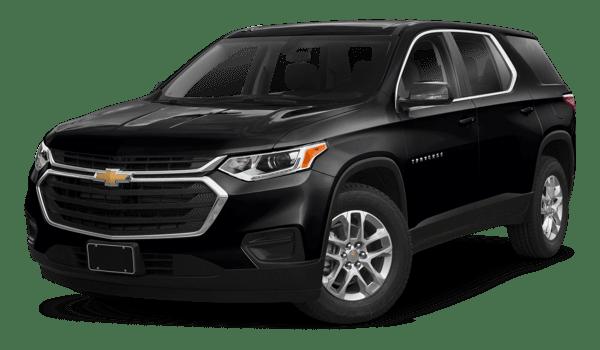 2018 Chevrolet Traverse white background