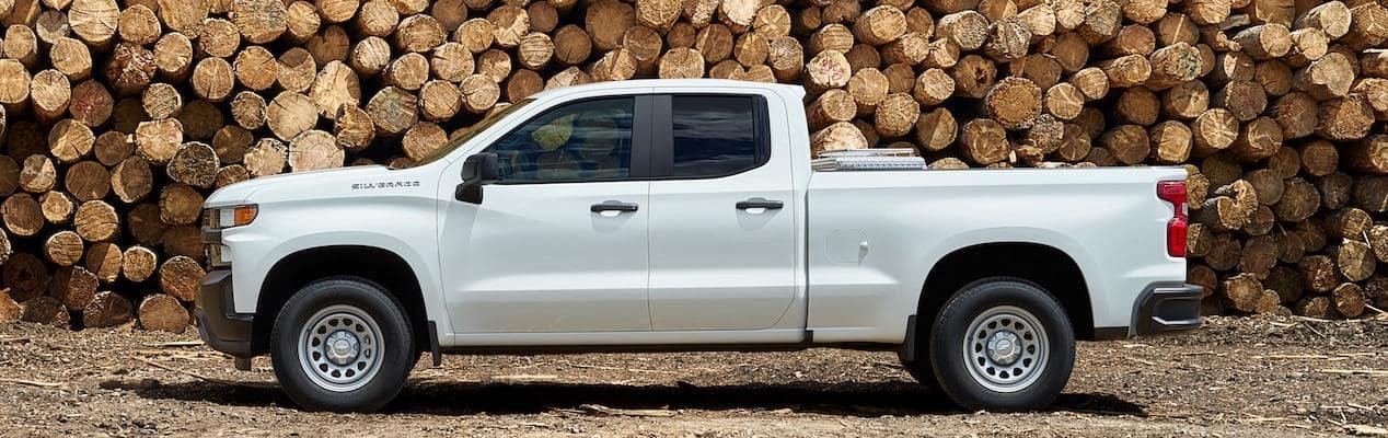 White 2019 Chevy Silverado 1500