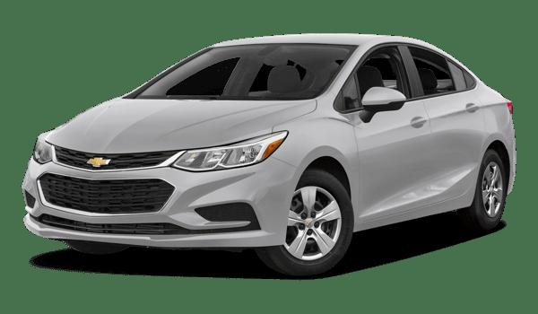 2018 Chevrolet Cruze white background