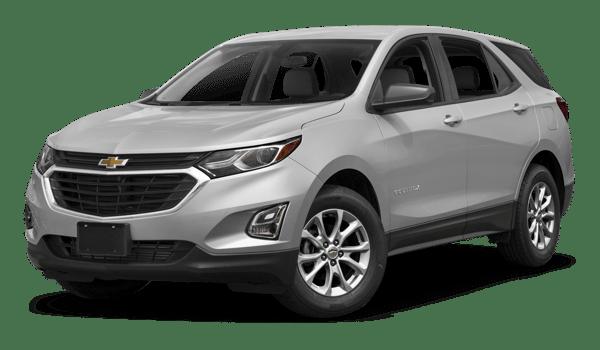 2018 Chevrolet Equinox white background
