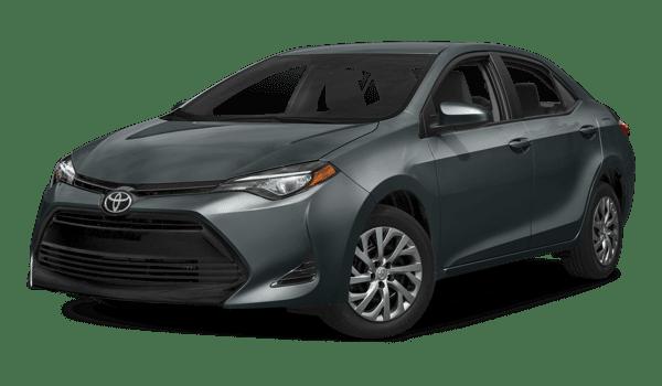 2018 Toyota Corolla white background
