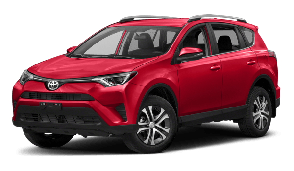 2018 Toyota RAV4 white background