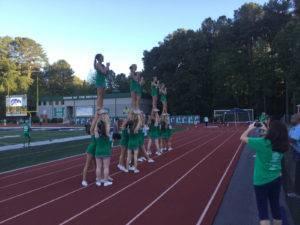 Friday Night Blitz Cheerleader