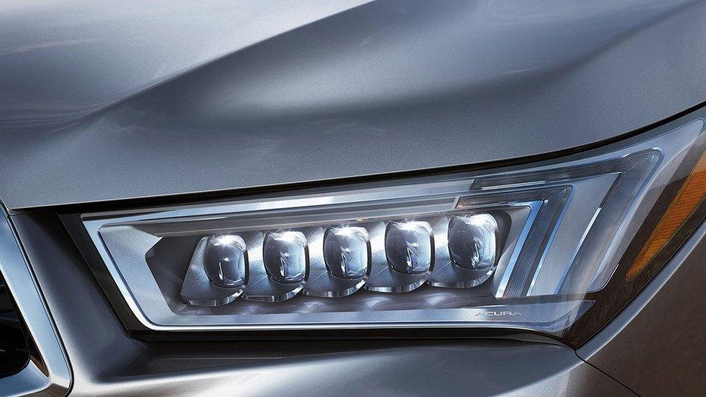 2017 Acura MDX headlight