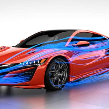 2017 Acura NSX air flow