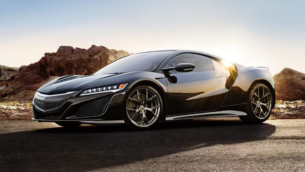 2017 Acura NSX in the sunlight