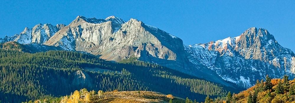 Mount Sneffel Ridgeway Colorado