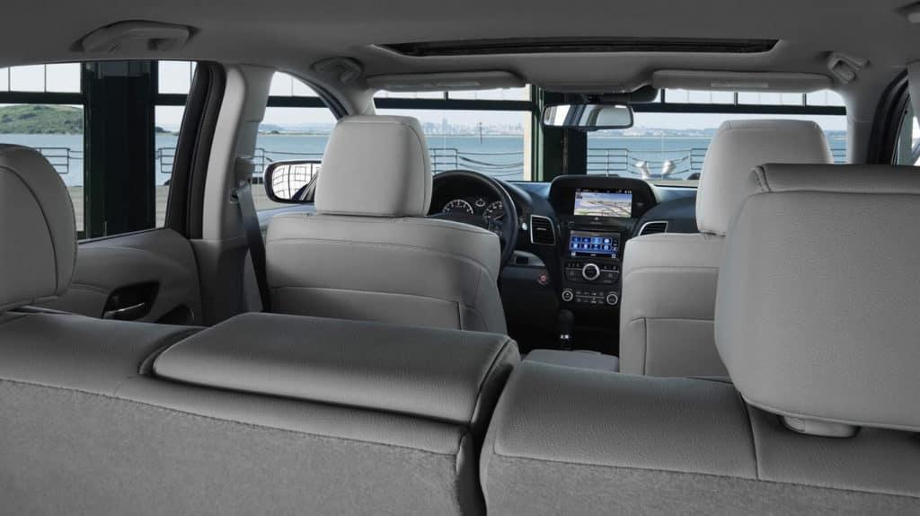 2018 Acura RDX interior seating