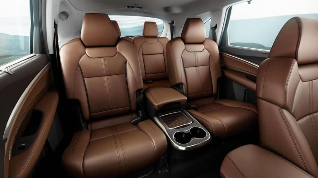 2017 MDX interior seating