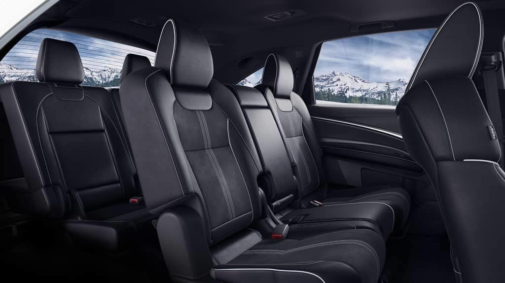 2019 Acura MDX seating