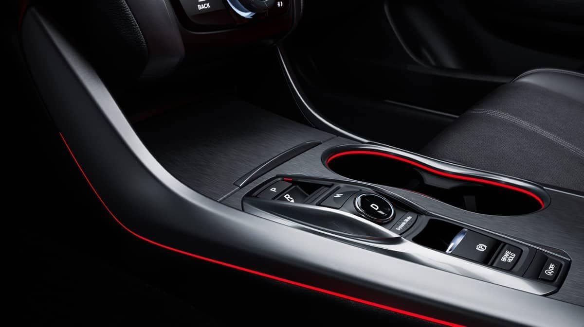 2019-Acura-TLX-illuminating-red-lighting