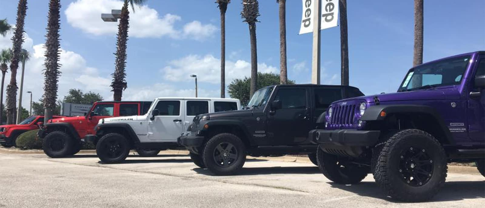 Daytona Garage Jeep Selection
