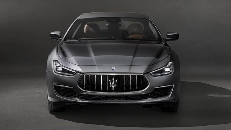 Maserati Ghibli front exterior