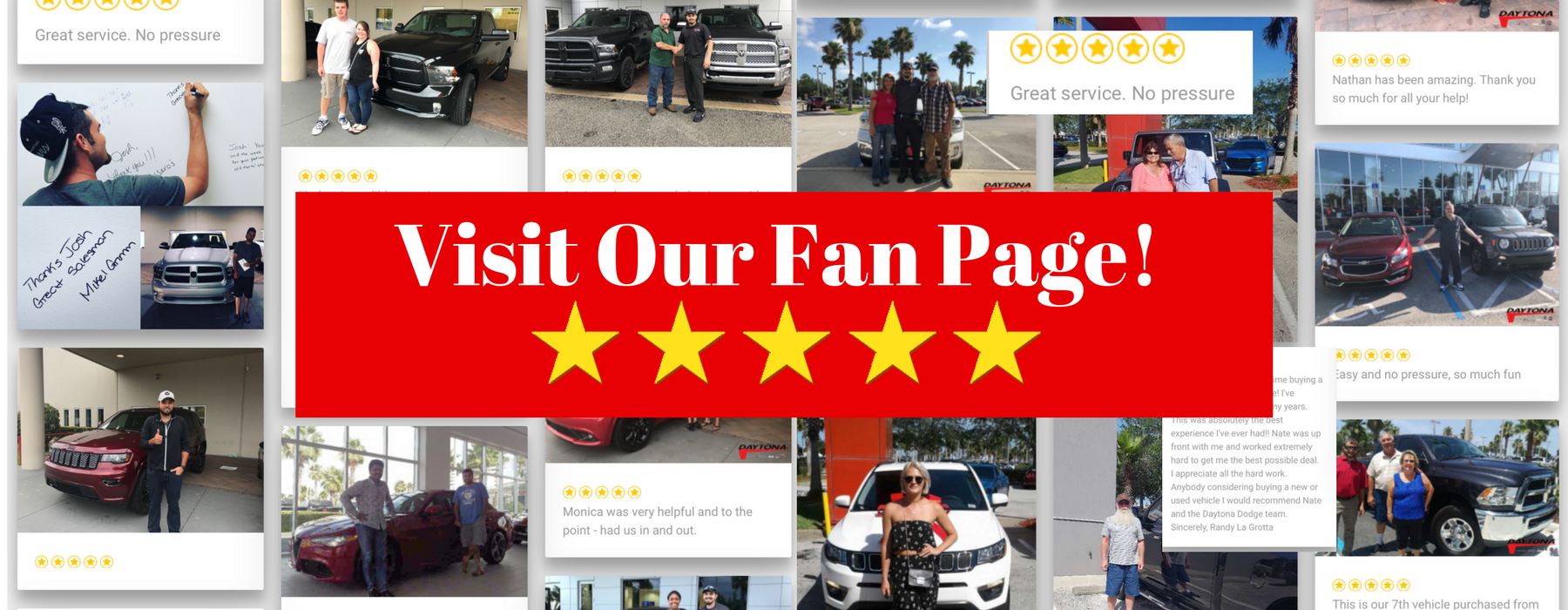 CB Fan page visit