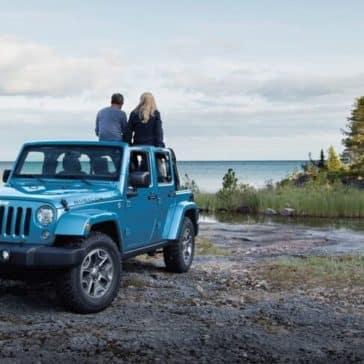 2018 Jeep Wrangler JK blue exterior